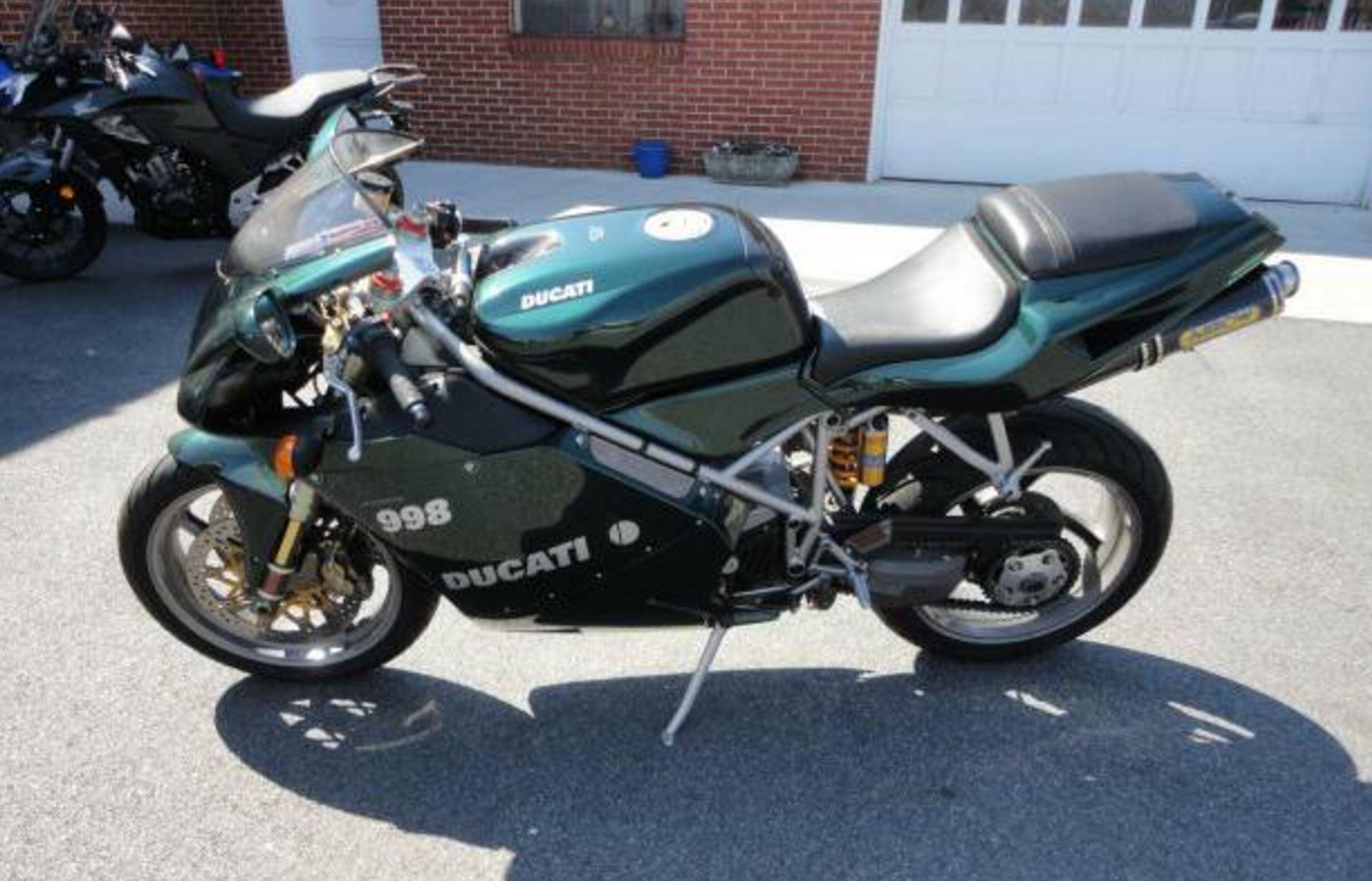 2004 Ducati 998 Matrix Edition – Bike-urious