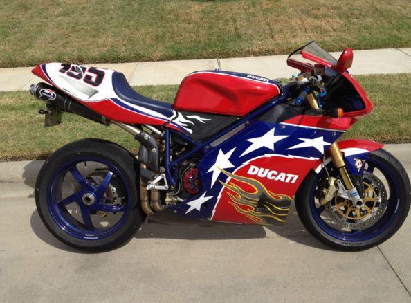 Ducati 998S Ben Bostrom Replica - Right Side