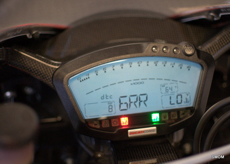 Ducati Desmosedici RR - Gauges