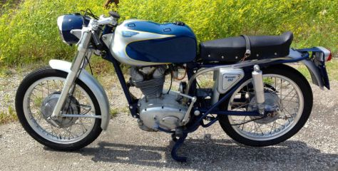 Ducati Elite 200 - Left Side