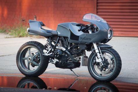 Ducati MH900E Custom - Right Side