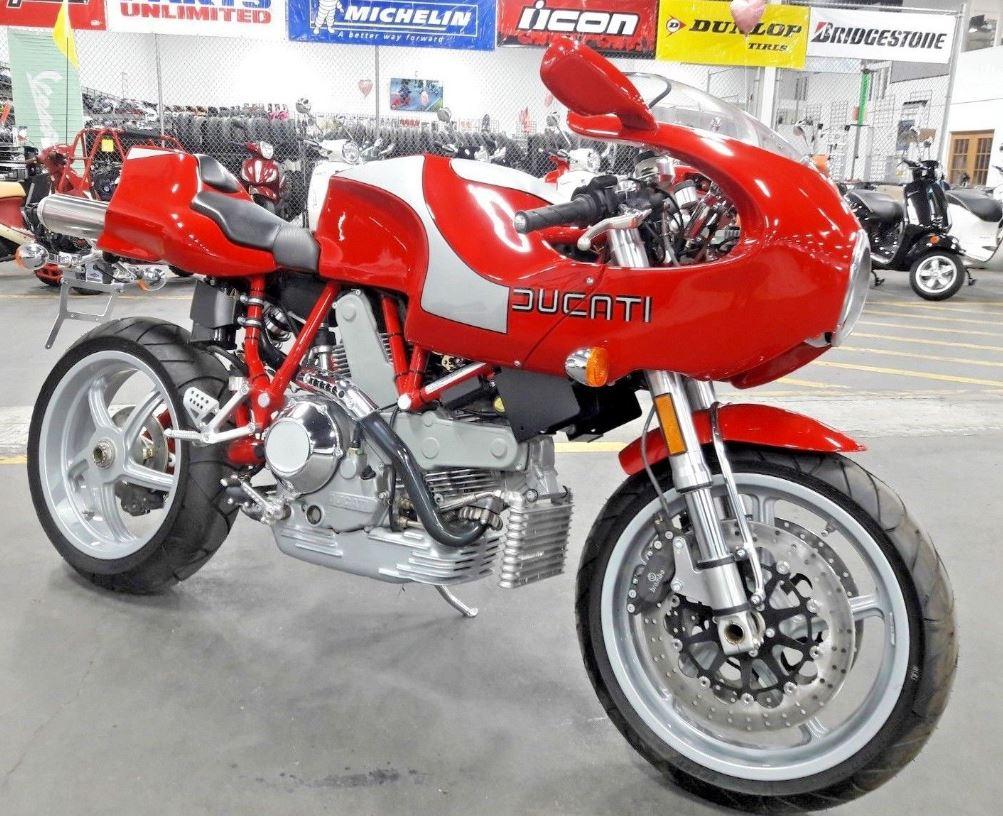 0 Miles - 2002 Ducati MH900e Evoluzione