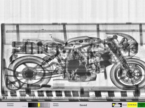 Ducati MH900e Evoluzione - X-Ray