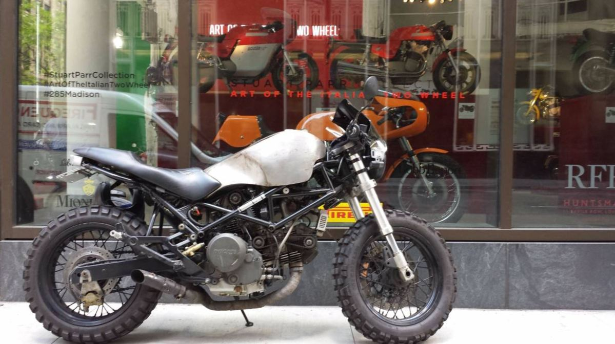 Custom Scrambler – 1999 Ducati Monster 750 | Bike-urious