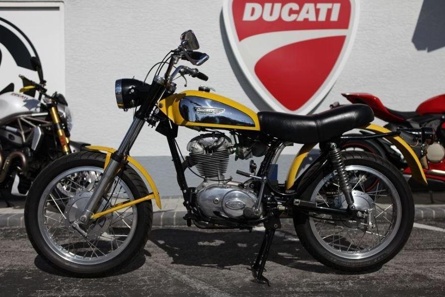 Ducati Scrambler 250 - Left Side