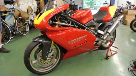 Ducati Supermono - Left Side