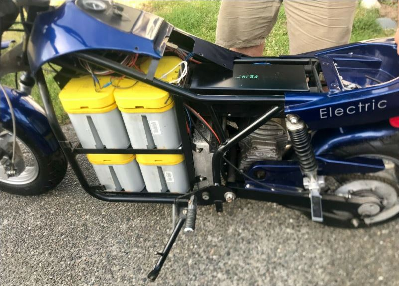 Early Production eBike – 1999 EMB Lectra VR24