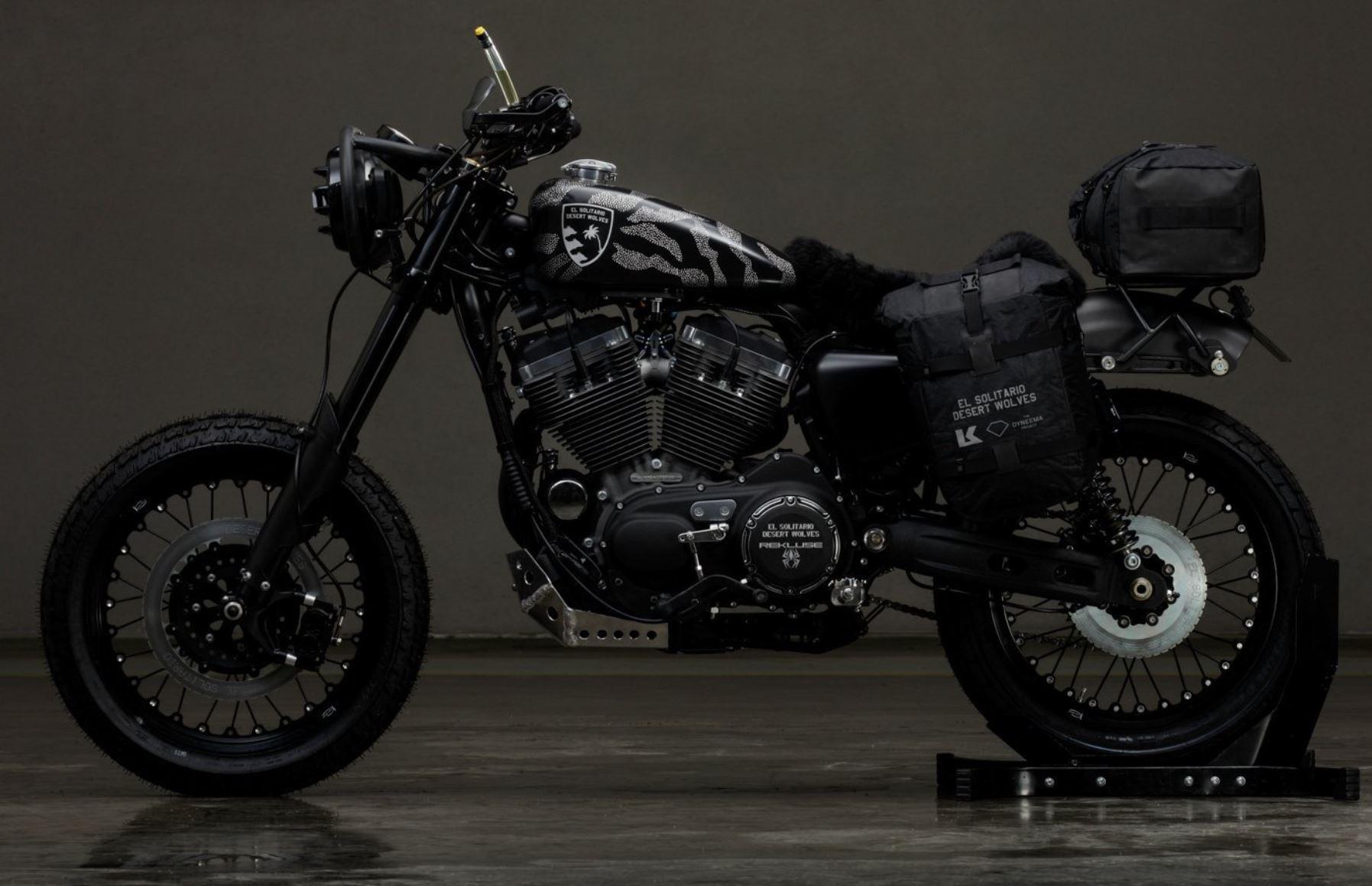 "Cycle World Cover Bike – ESMC's ""Desert Wolf"" Harley Roadster"