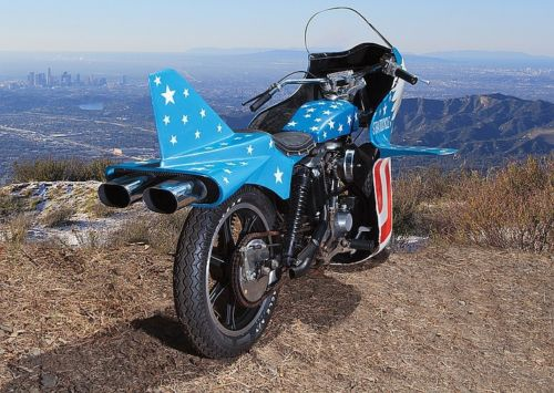 Evel Knievel Stratocycle - Rear