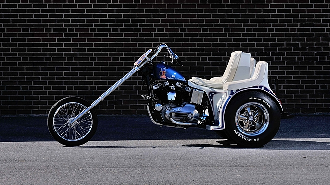 Famous Evel Knievel Bike At Auction: Evel Knievel Trike