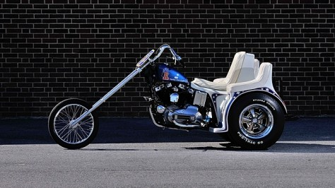 Evel Knievel Trike - Left Side