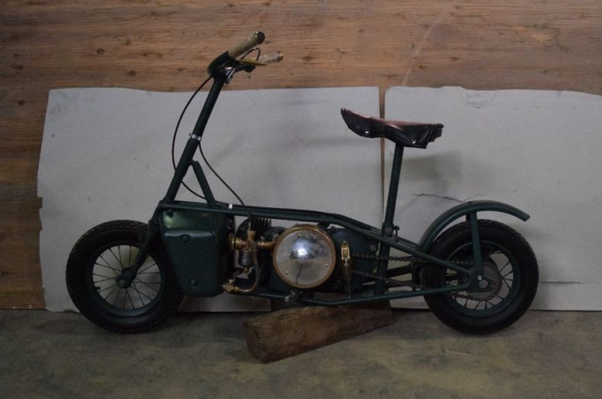 1942 Excelsior Villiers Welbike Bike Urious