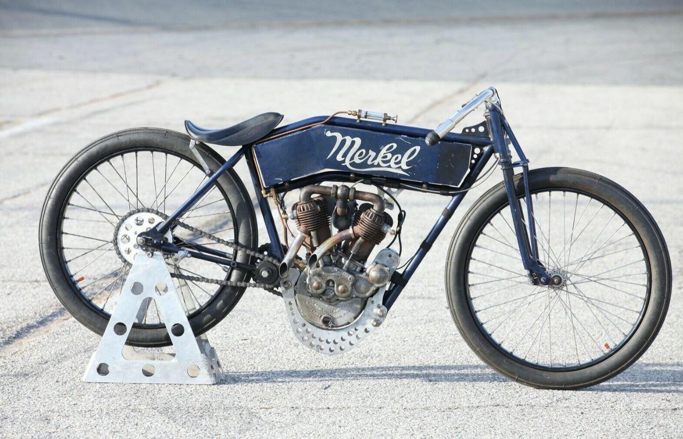 1912 Flying Merkel Board Track Racer