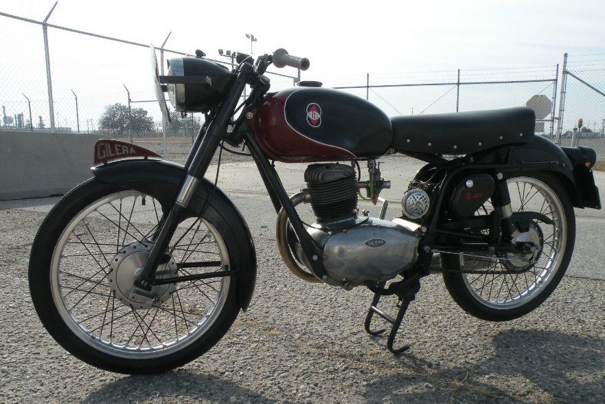 1960 gilera 150 sport | bike-urious