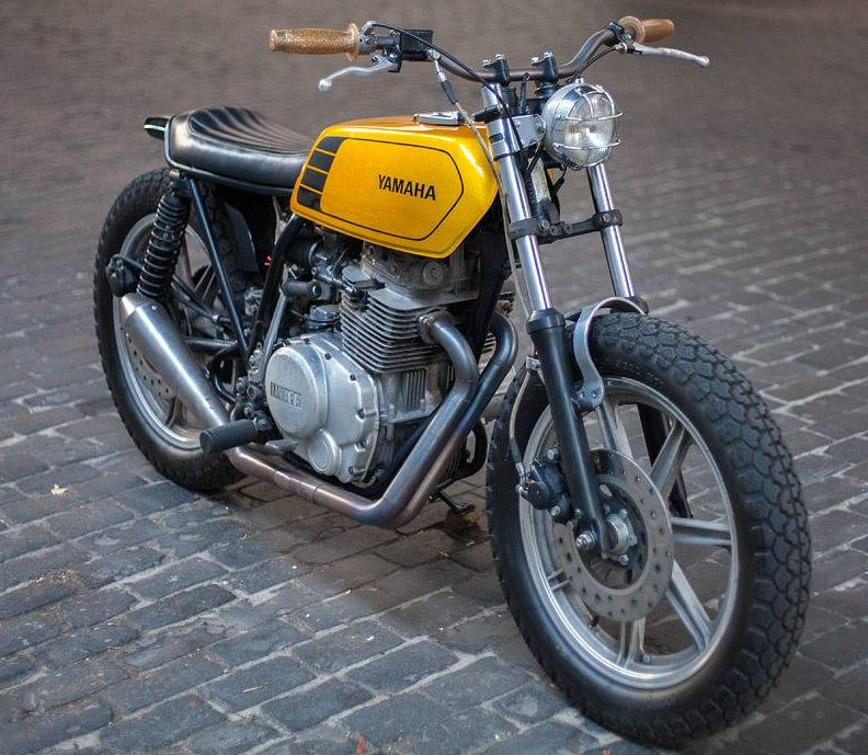 Ginger McCabe Build - 1977 Yamaha XS400 Custom