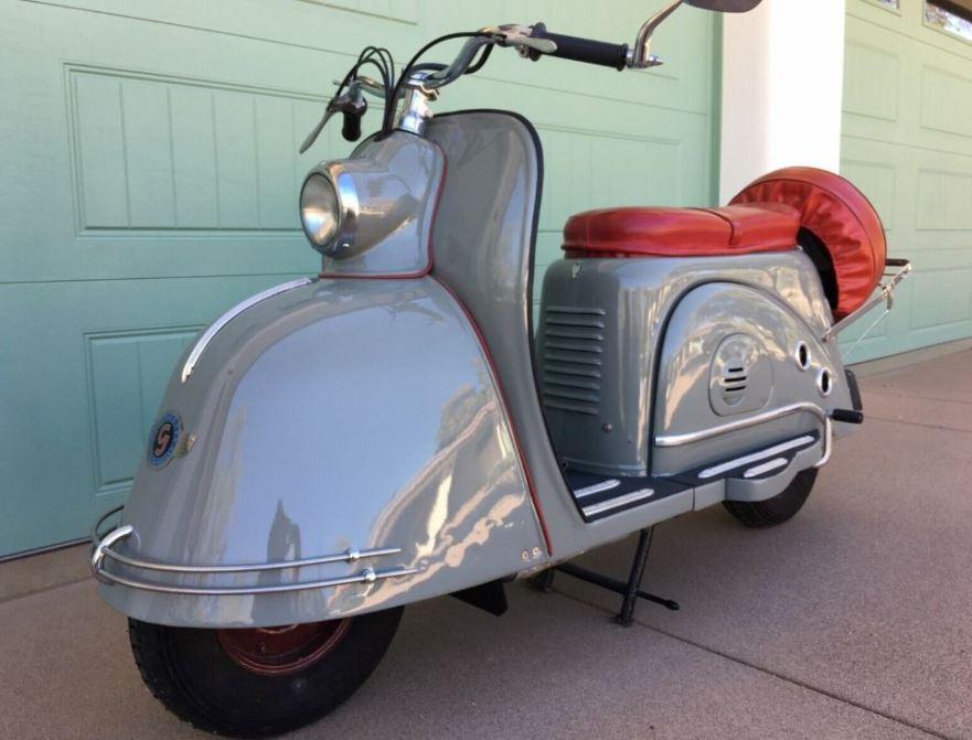1953 Goggo 200 | Bike-urious