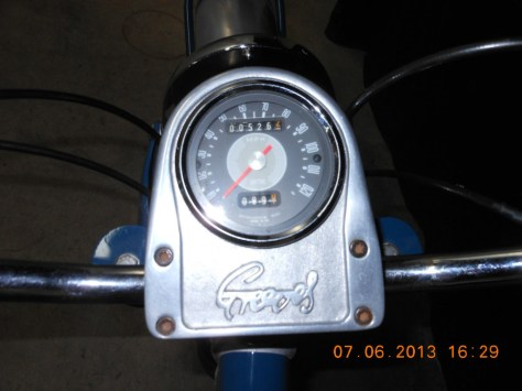 Greeves Ranger - Gauges