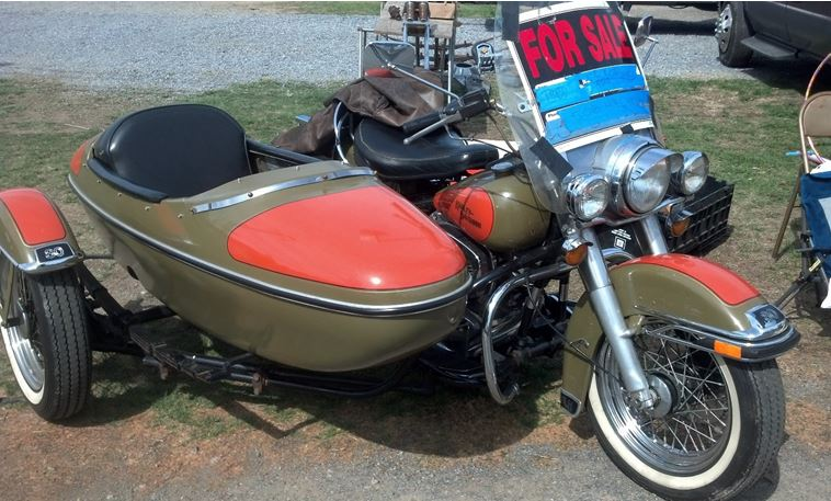 HD Heritage Sidecar - Front