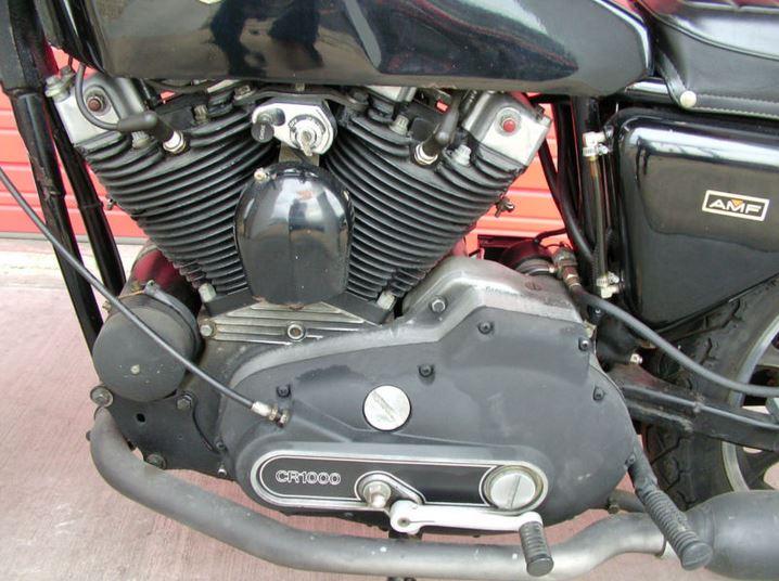 HD XLCR - Engine