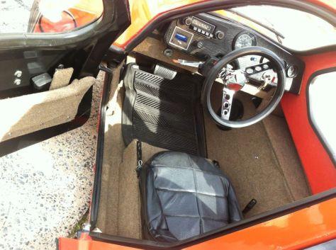 HMV Free-way - Cockpit