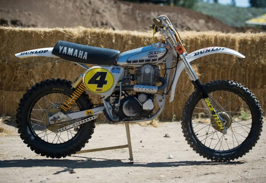 Vintage Motocross Bike 113