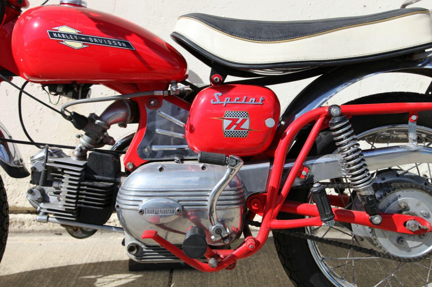 Restored – 1963 Harley-Davidson Aermacchi 250 Sprint H – Bike-urious