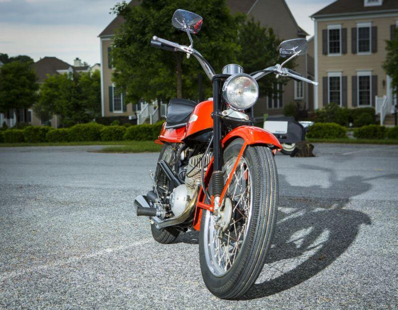 Harley Davidson Bobcat - Front