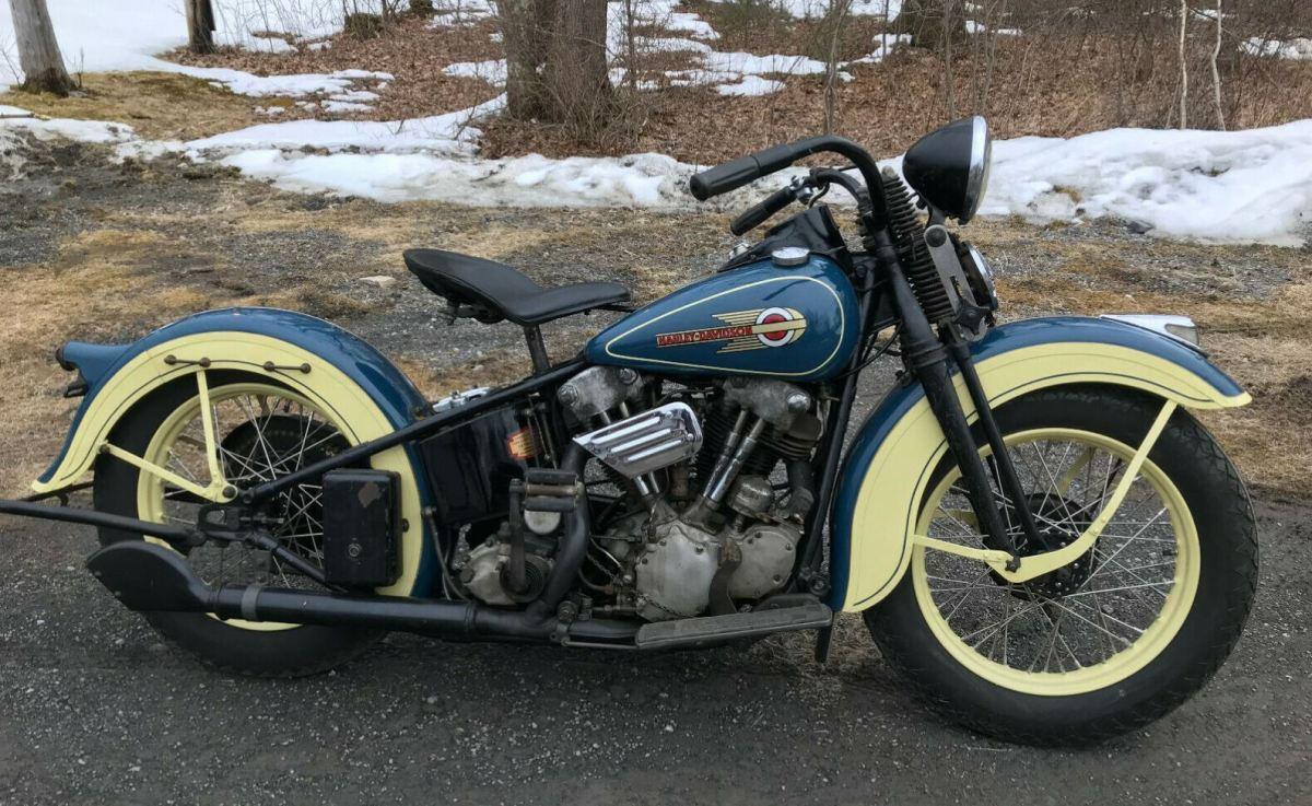 Harley Davidson Knucklehead V Twin