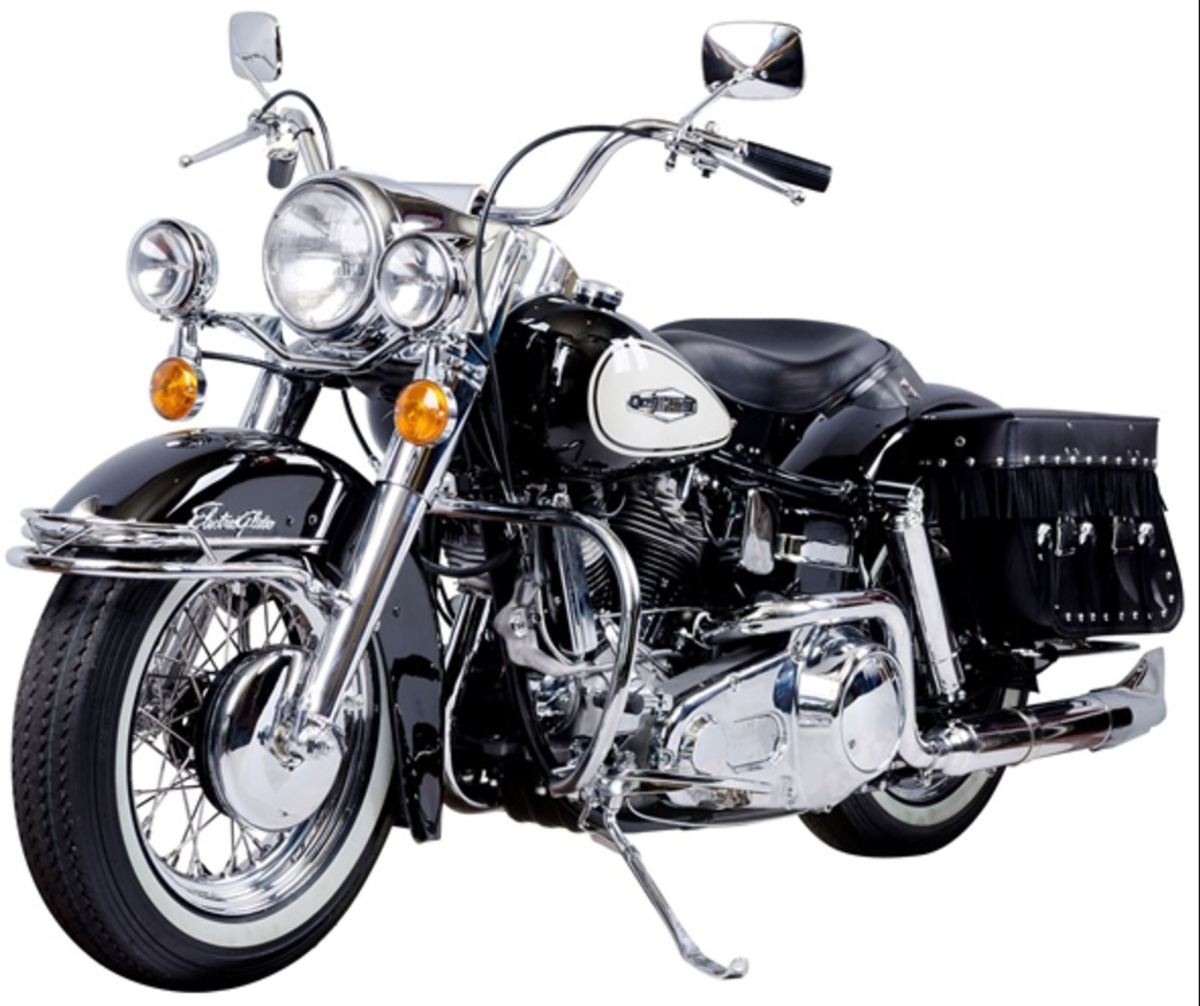 $5 AMA Raffle - 1966 Harley-Davidson FLH