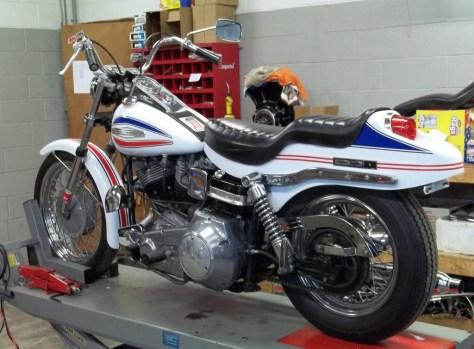 Harley-Davidson FX Super Glide - Left Rear