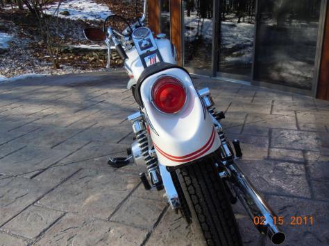 Harley-Davidson FX Super Glide - Rear