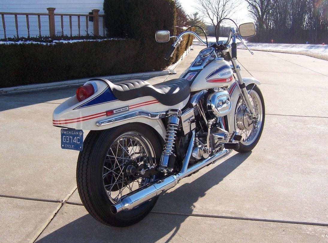 Restored Boat Tail – 1971 Harley-Davidson FX Super Glide | Bike-urious