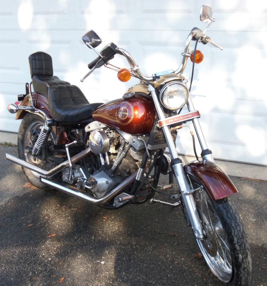 Harley-Davidson FXSB Dealer Award - Front