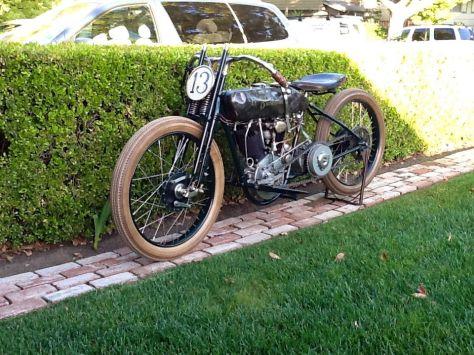 Harley-Davidson JD Racer - Left Side