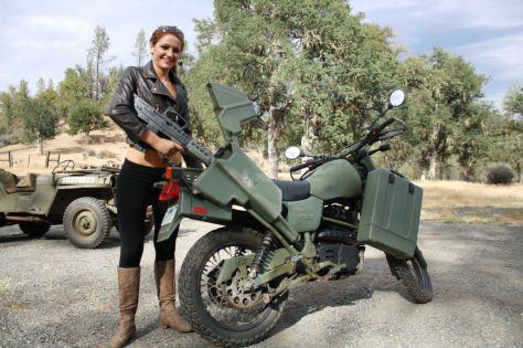 Harley-Davidson MT350 - Scabbard