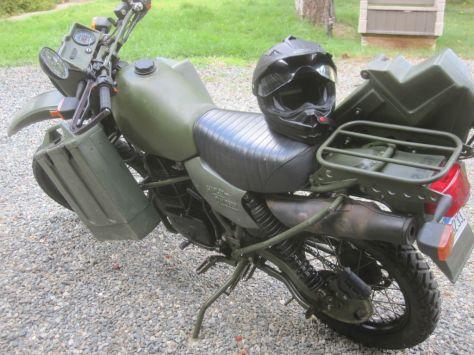 Harley-Davidson MT350 - Top Left