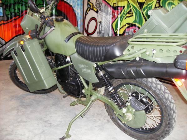 Harley Davidson MT500 - 3