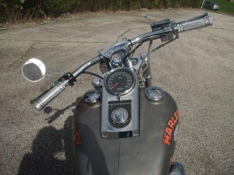 Harley-Davidson Marlboro Man Replica - Cockpit