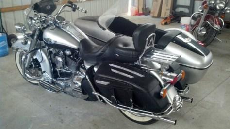 Harley-Davidson Road King Sidecar - Left Side