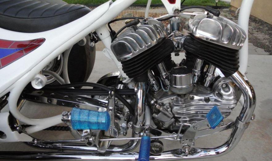 Harley-Davidson Servicar Custom - Engine
