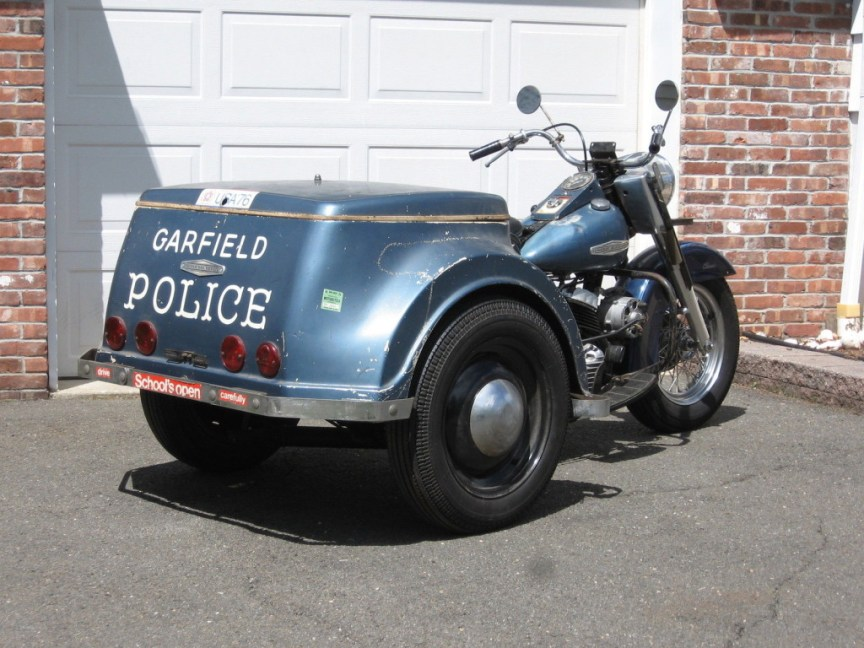Harley-Davidson Servicar - Rear Right