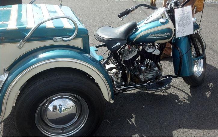 Harley-Davidson Servicar - Right Side