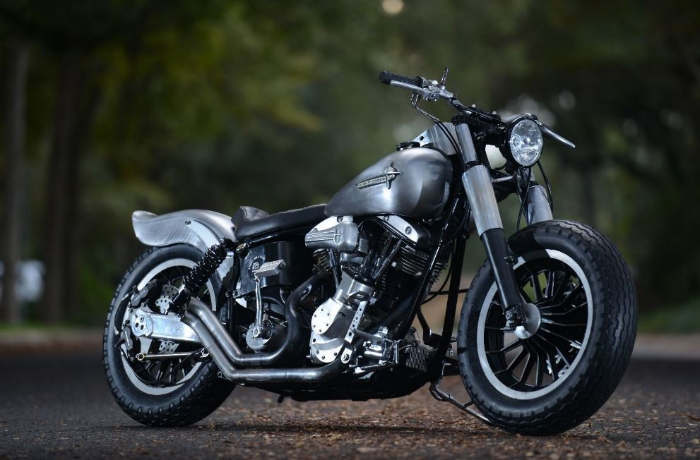 Raw Steel - 1978 Harley-Davidson Shovelhead Custom