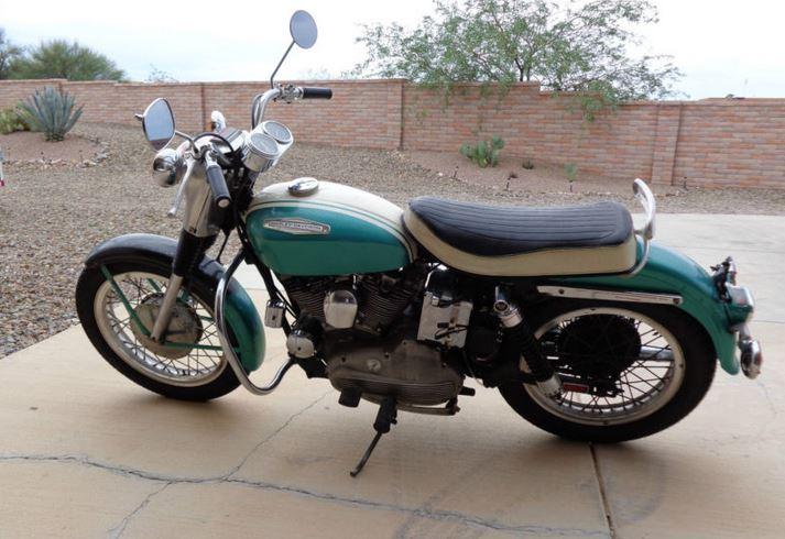 Harley-Davidson Sportster XLH - Left Side