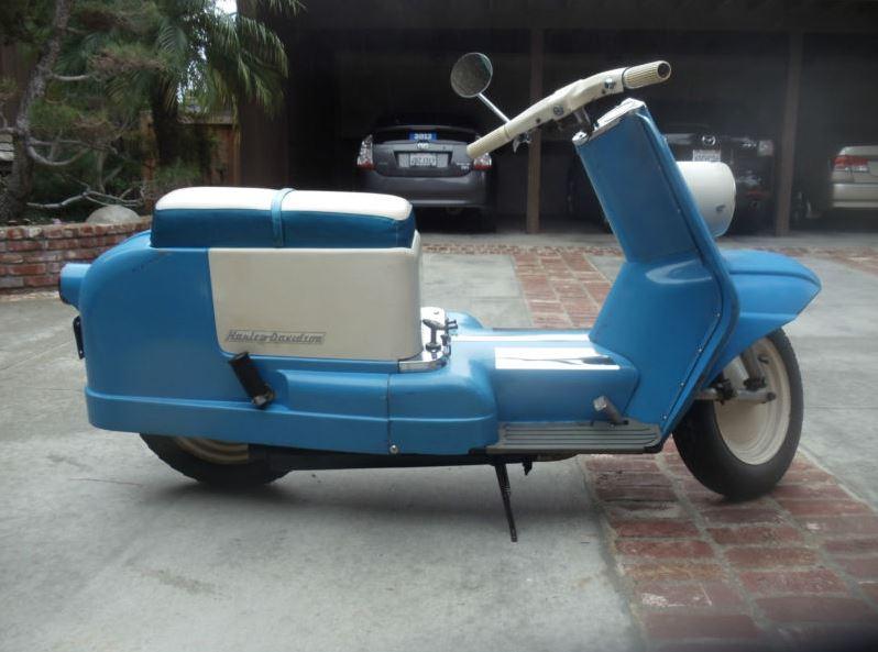 1962 Harley Davidson Topper Bike Urious