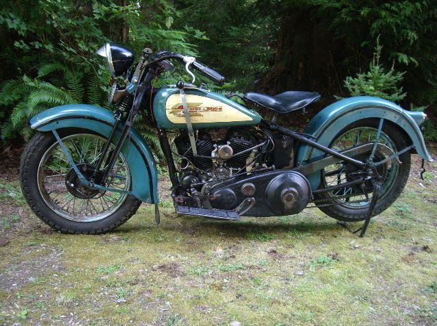 Harley Davidson VLH - Left Side