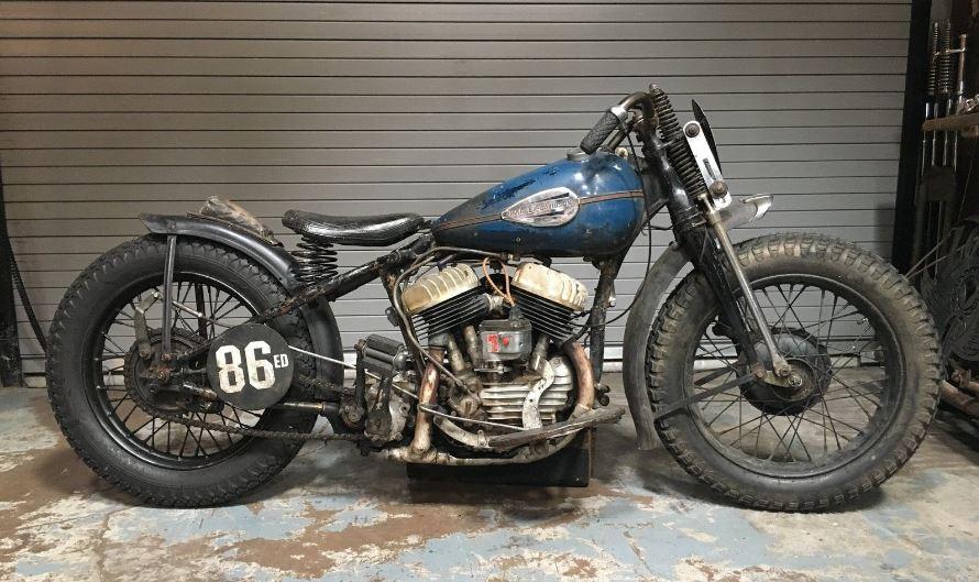 Barnfind Racer 1942 Harley Davidson Wla Bike Urious