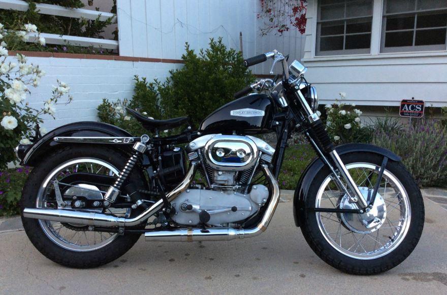 Harley Davidson Xlch Right Side on 1966 Ironhead Sportster