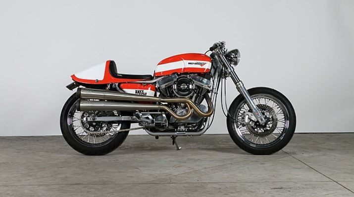 Harley-Davidson XRTT Custom - Right Side