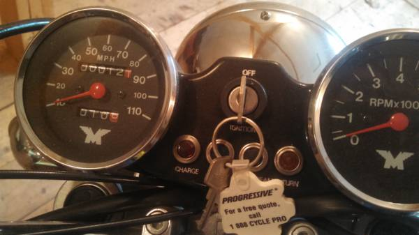 Harris Matchless G80 - Gauges
